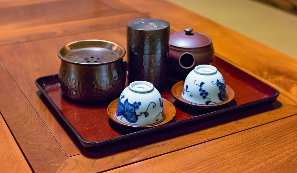 traveling Japan for food lovers: Japanese tea