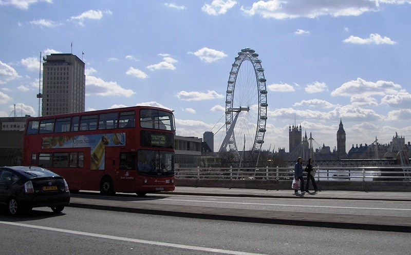 London insider tip: ride a double-decker bus