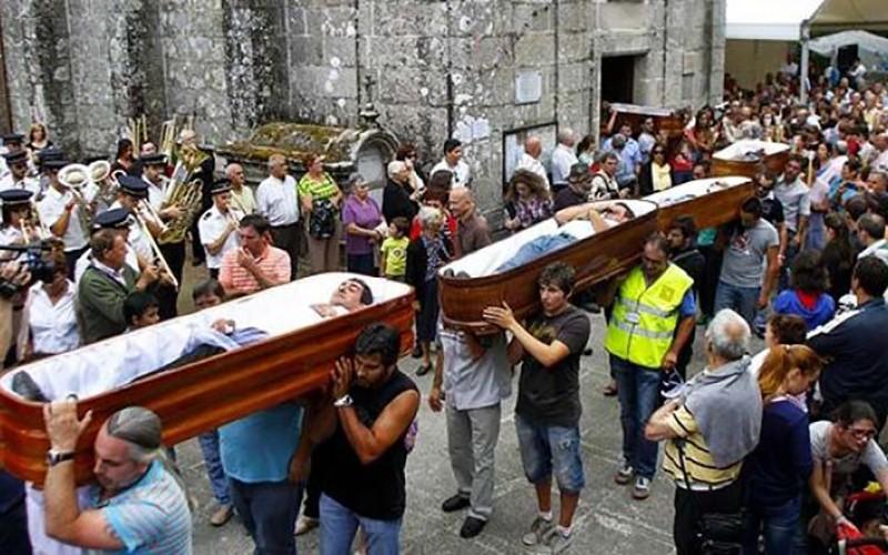Spain's near-death experience festival