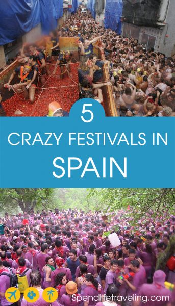 5 Crazy Spanish Festivals You Have to See to Believe!