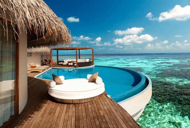 Best resorts in the Maldives - W Maldives water villa