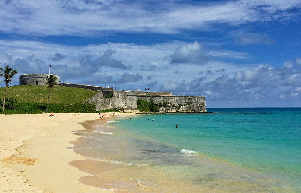 St. Catherine's Beach in Bermuda