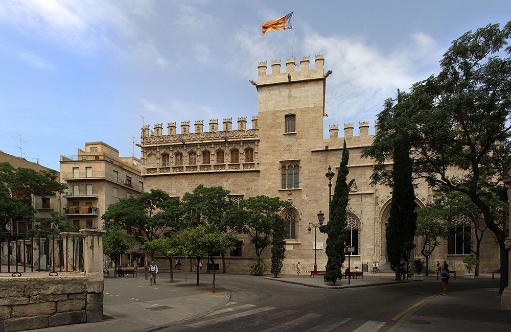Things to do in Valencia: visit Lonja de la Seda (Silk Exchange)