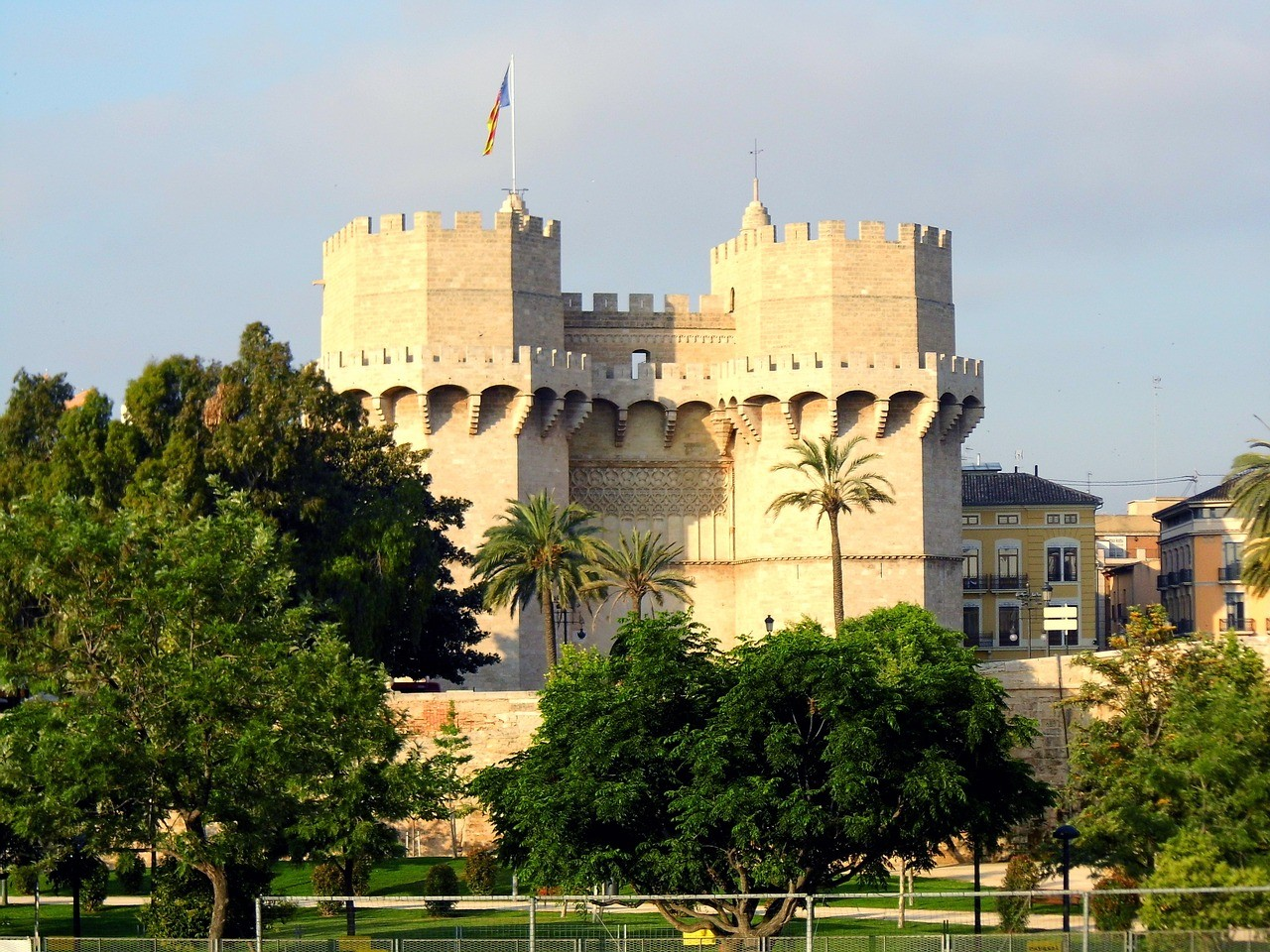 Valencia Spain things to do: climb the city gate