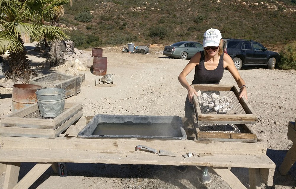 Great day trips from San Diego: gemstone mining