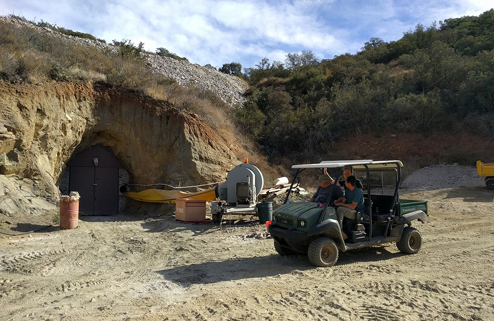 best day trips from San Diego: gemstone mining