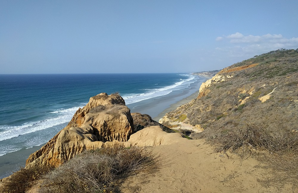 Torrey Pines is one of the main attractions in San Diego