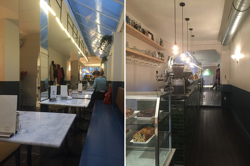 Best cafes for working in Amsterdam: Frederix