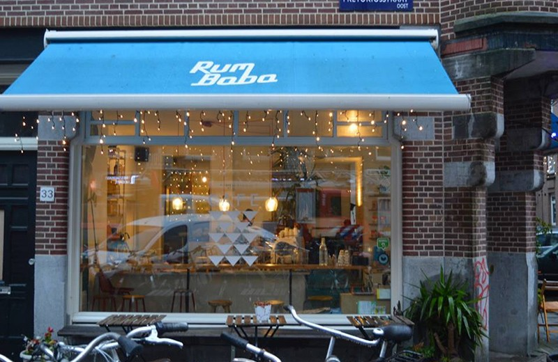 Best cafes for working in Amsterdam: Rum Baba