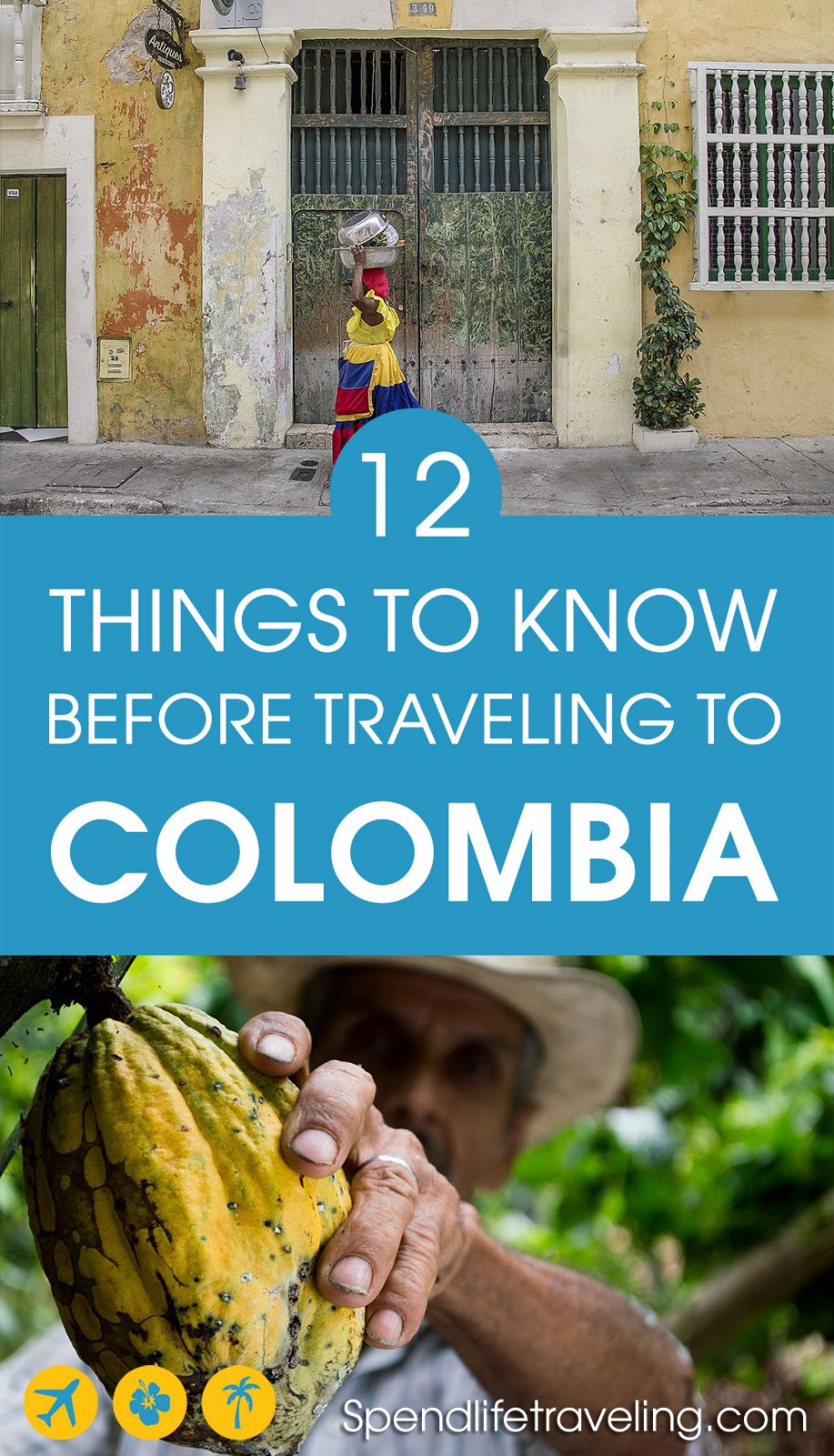 Are you thinking about traveling to Colombia? Colombia is a beautiful and very diverse country. These are some useful things to know before you travel to Colombia.