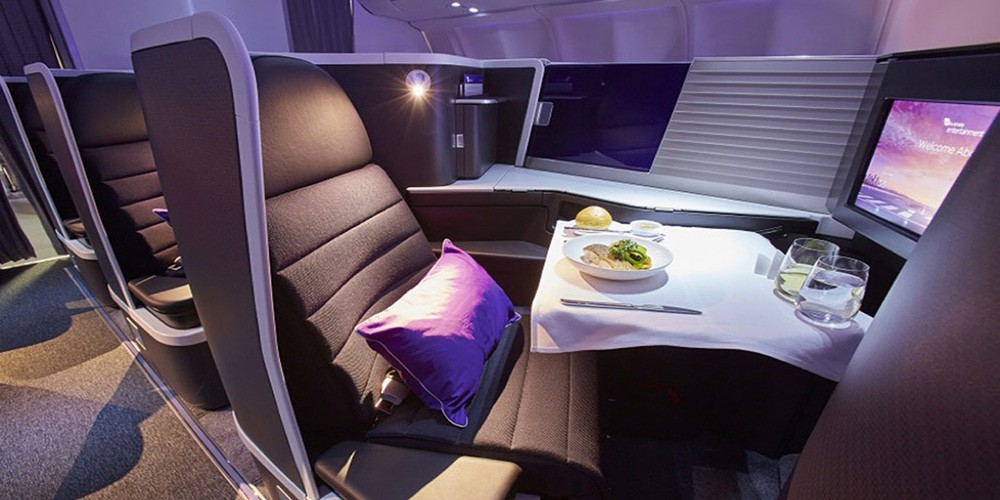 why you should fly first class or business class