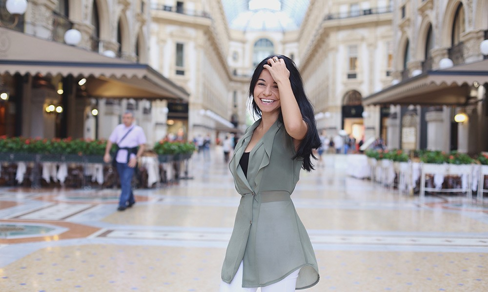 expat in Milan, Italy