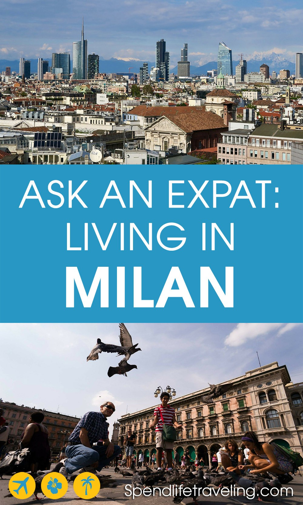 Interview with an expat about what it's really like to move to and live in Milan, Italy. #expatlife #lifeabroad #moveabroad #milan