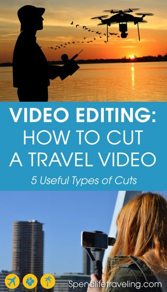 When traveling you most likely collect a lot of videos and pictures. But how do you best make all of that into a great travel video? These are 5 types of cuts you can use to create that perfect travel video. #videoediting #travelvideos #dronevideo