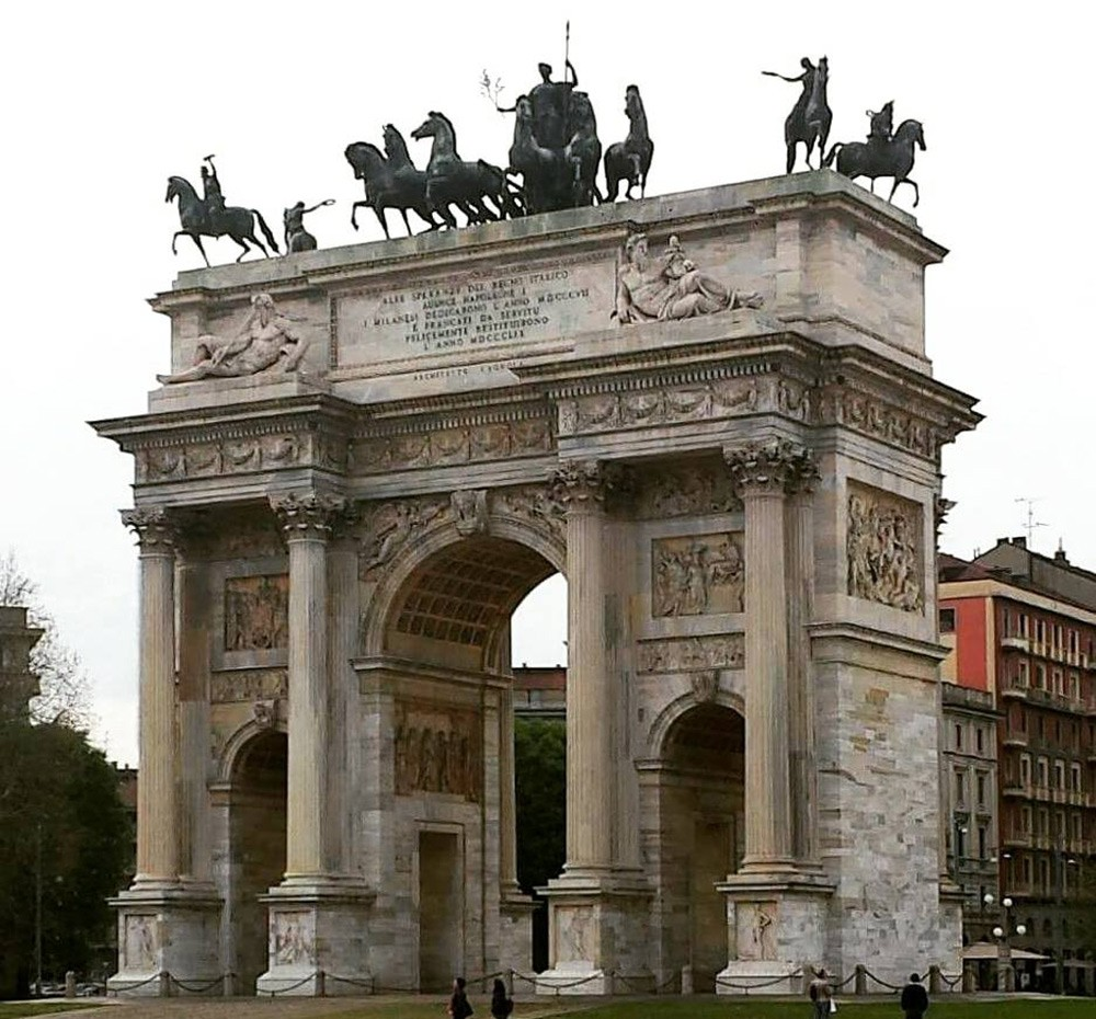 What not to miss in Milan: Arco della Pace