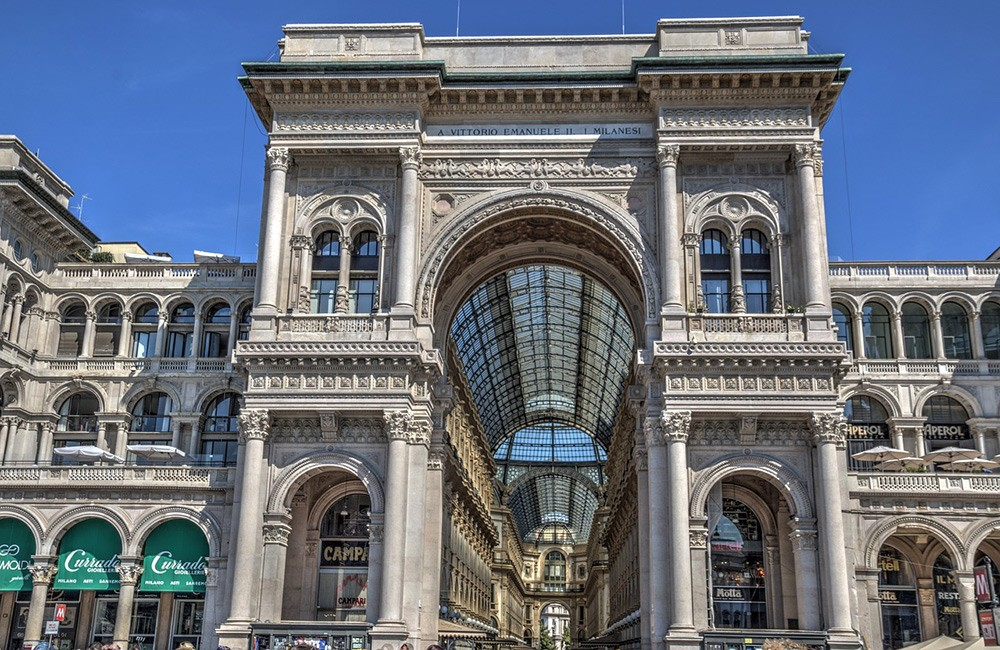 What not to miss in Milan: Galleria Vittorio Emmanuelle