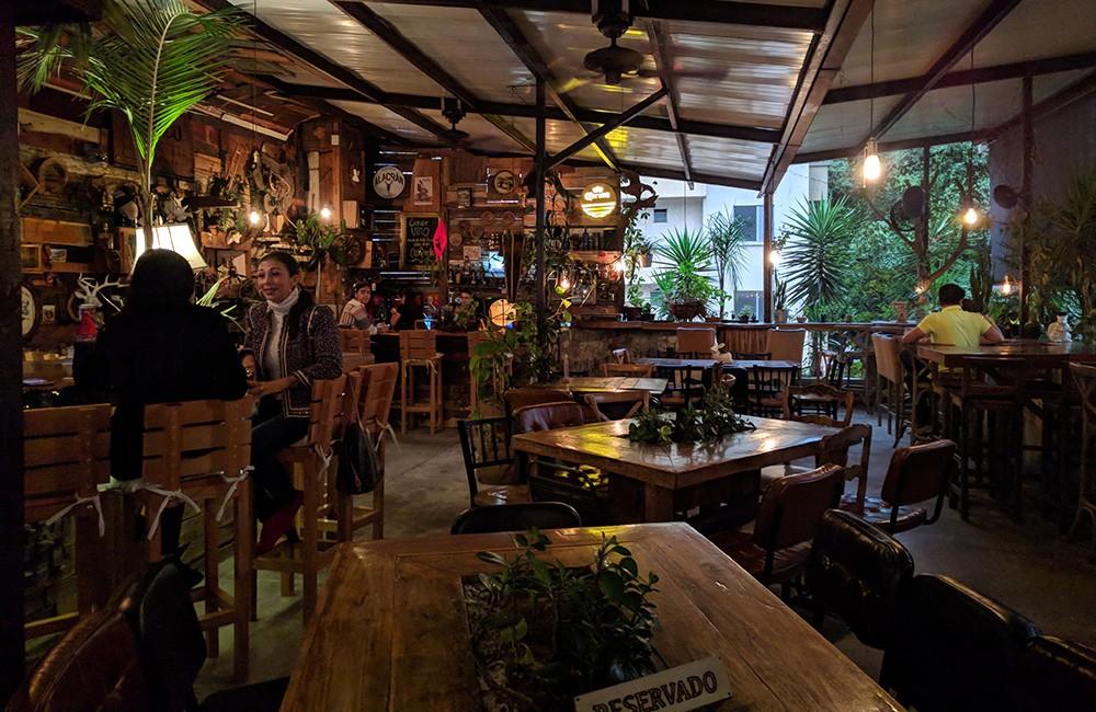 Best rooftop bars in Medellin: Alambique