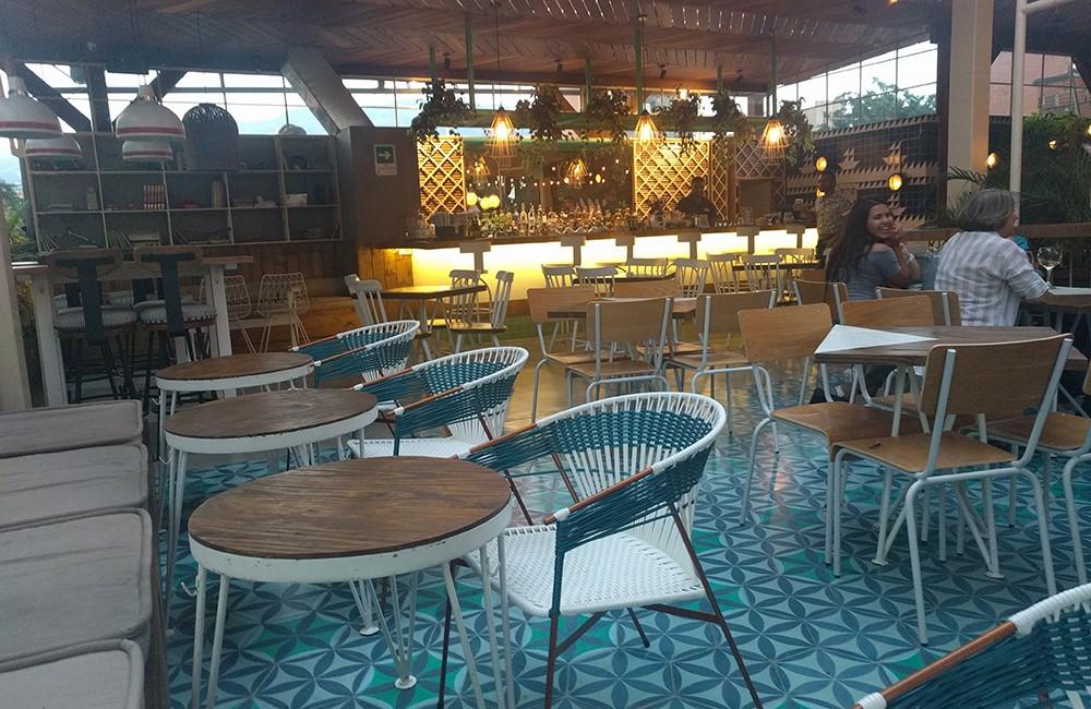 rooftop restaurant in Medellin: Panorama Laureles