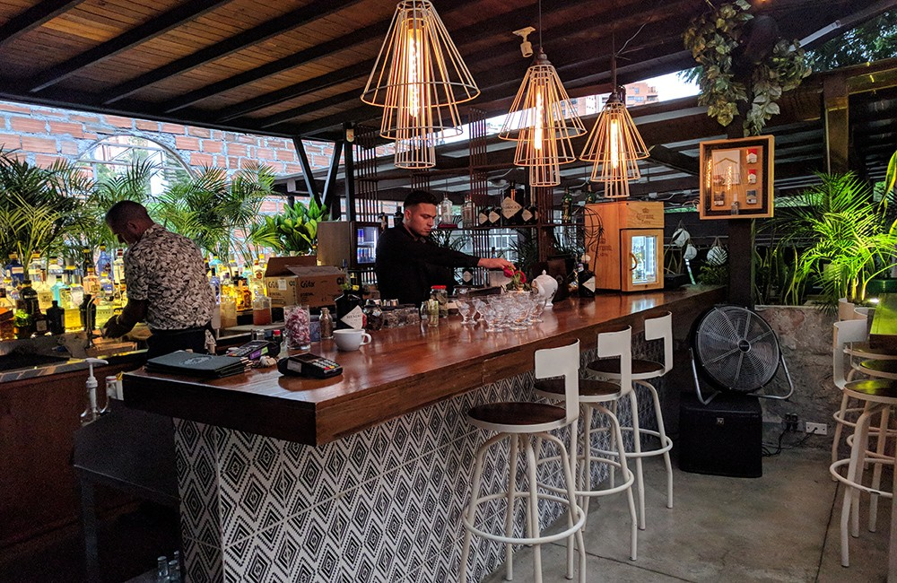 Best rooftop bars in Medellin: Panorama Provenza
