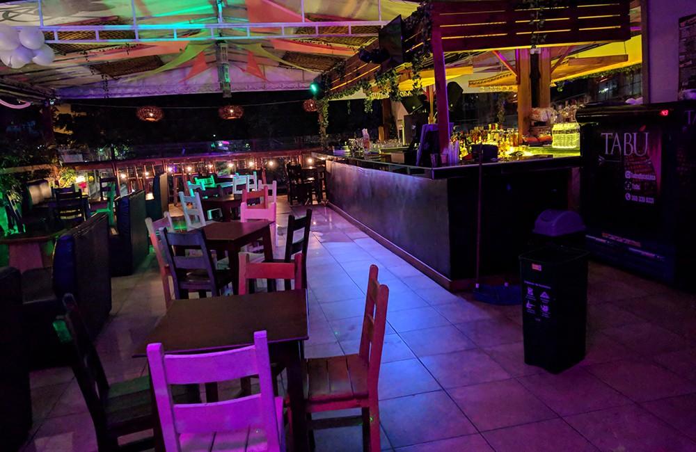 Rooftop bars in Medellin: Tabu Poblado