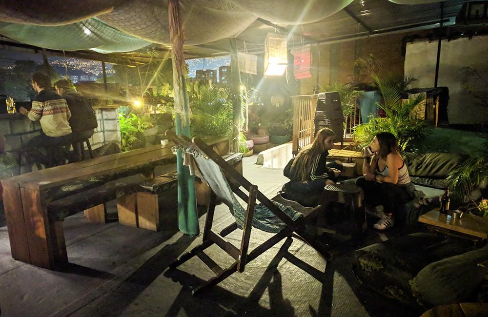 Rooftop bars in Medellin: Ondas