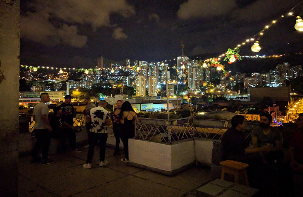 rooftop bars in Medellin: Club 1984