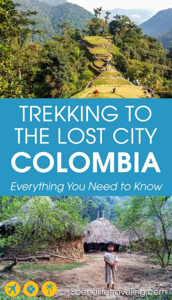A complete guide to trekking to the Lost City (Ciudad Perdida) in Colombia. Not as many people know about this but it is just as impressive as Machu Picchu! #travelColombia #LostCity #CiudadPerdida #traveltips #trekking #hiking