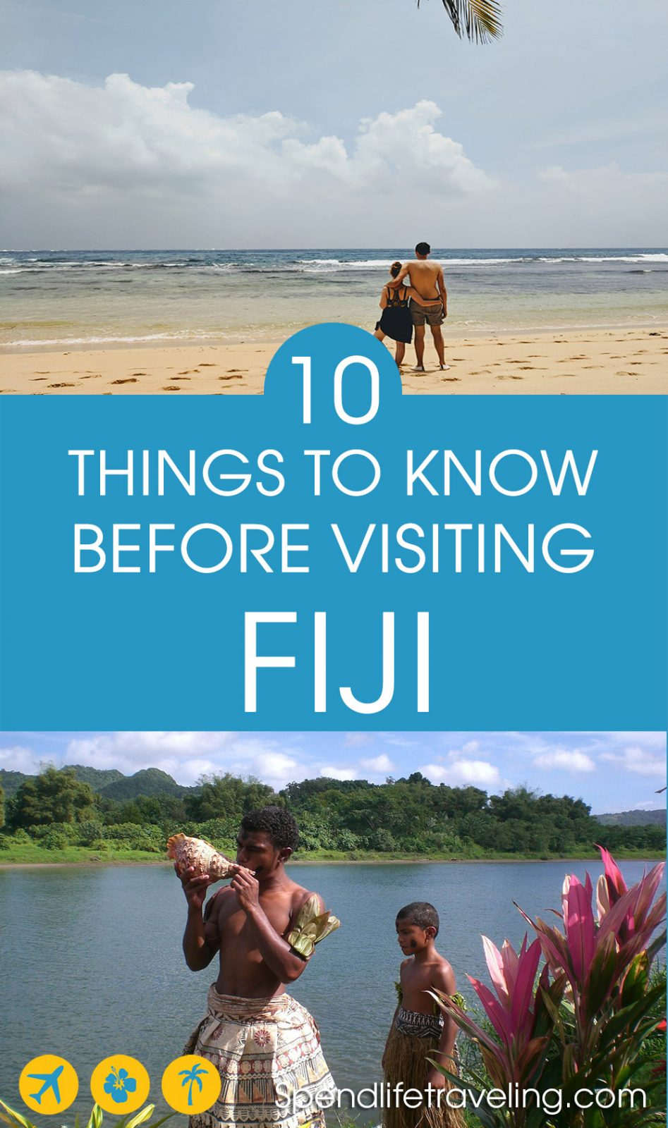 Fiji is a tropical paradise. But, before you travel there check out these 10 things to know about Fiji to make the most out of your trip!