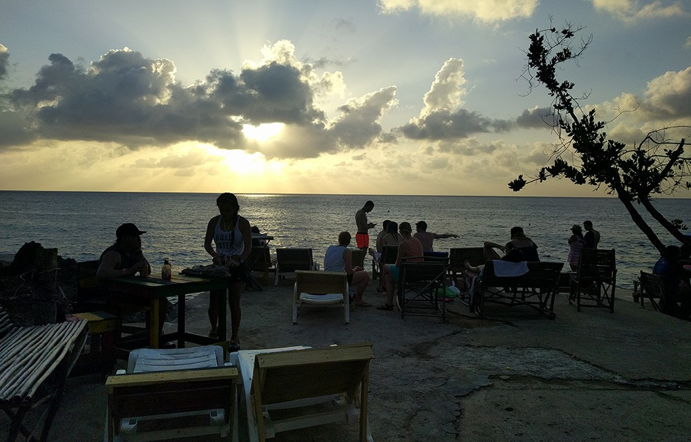 Best place to watch the sunset in San Andres Island, Colombia