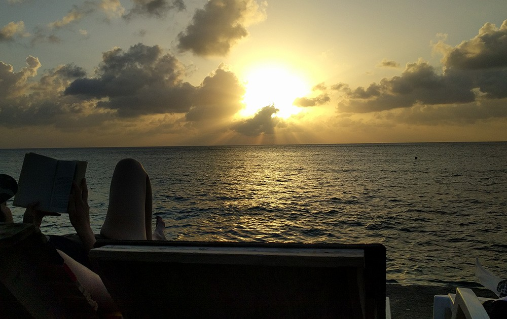 Best place to watch the sunset on San Andres Island