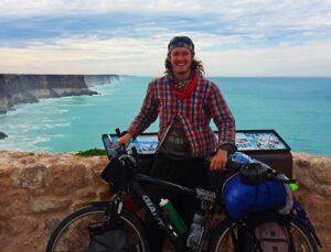 Daniel biking across the USA & the world