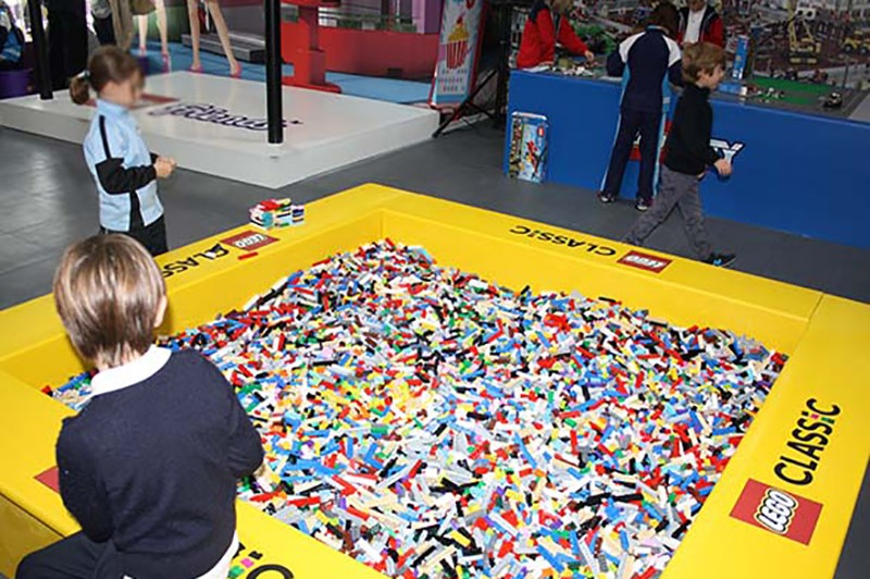 Things to do in Valencia with kids: Lego Fun Factory