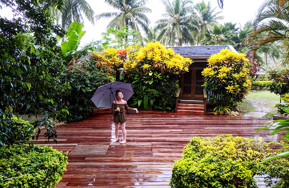 Things to know before visiting Fiji - Rain