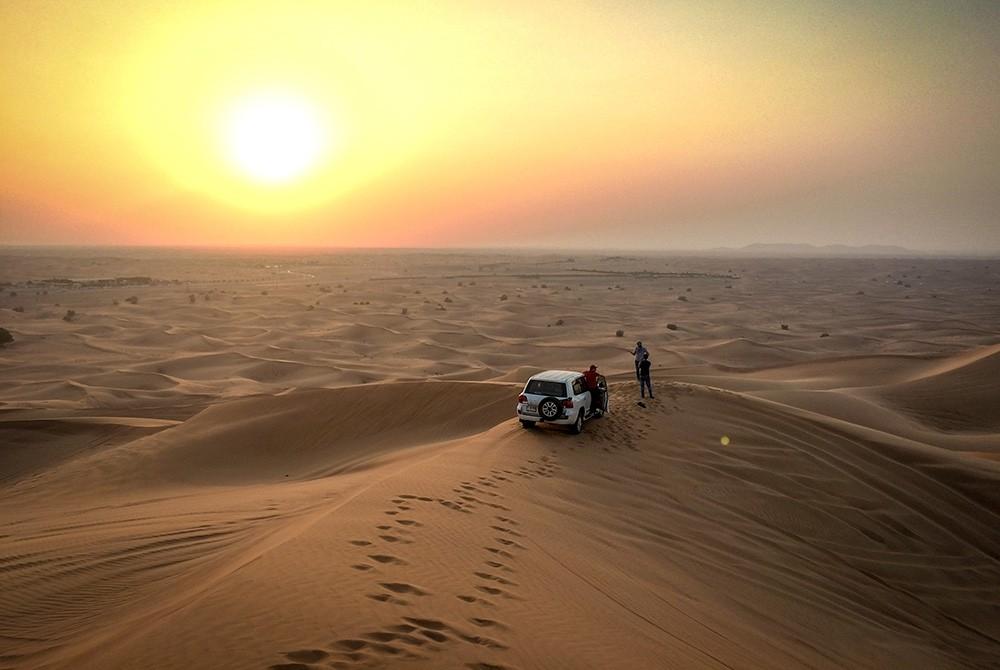 day trips from Dubai: Dune Bashing