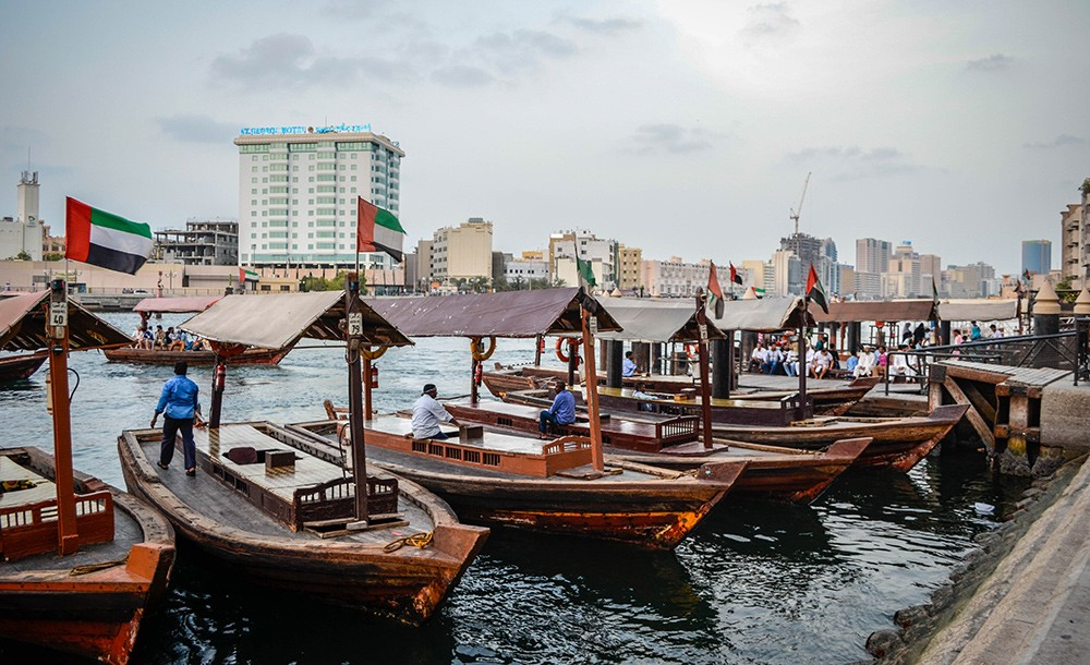 Things to do in Dubai: take a dhow