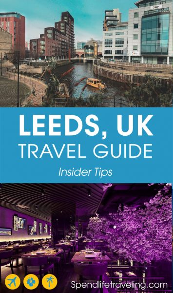 Are you planning a short trip to #Leeds? Check out what to see & do, where to eat & drink and where to stay in this British city. #travelguide #citybreak #UK #England #visitEngland #travelEngland