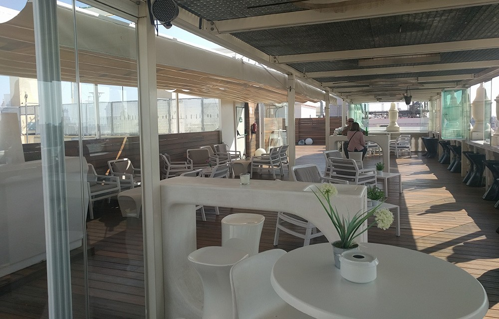 Best rooftop bars in Valencia: Ateneo Sky Bar