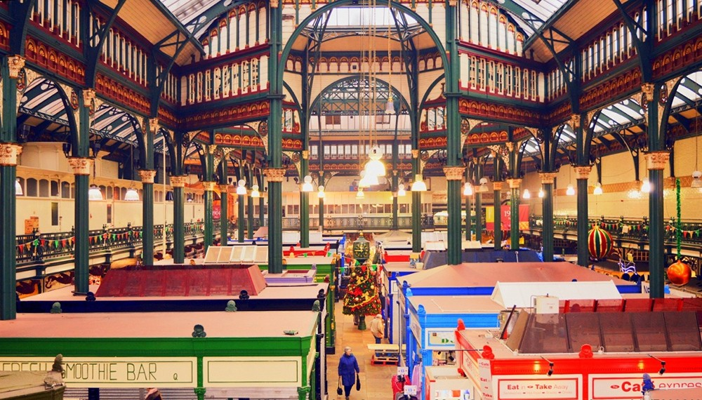 Where to go on a short trip to Leeds: Kirkgate Market
