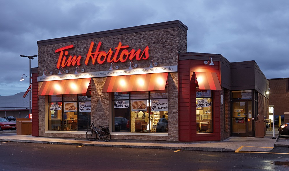 Tim Hortons is a must-visit when going to Canada