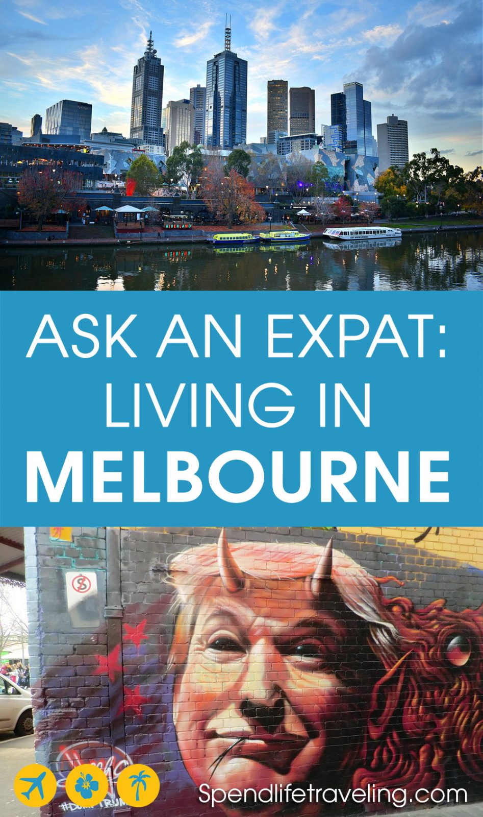 Interview about what it's like to move to and live in Melbourne, Australia