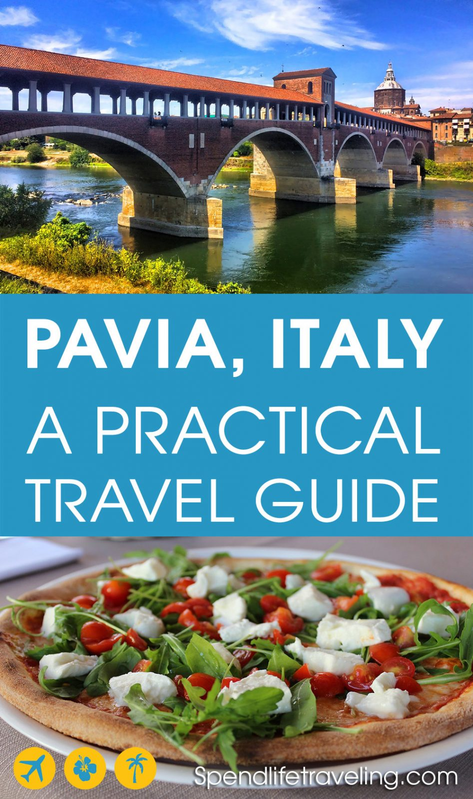 Insider's tips for what to do, where to stay & where to eat in #Pavia. Pavia is a lovely city worth visiting on your #Italy trip or as a day trip from #Milan. #traveltips #travelguide #travelItaly #visitItaly