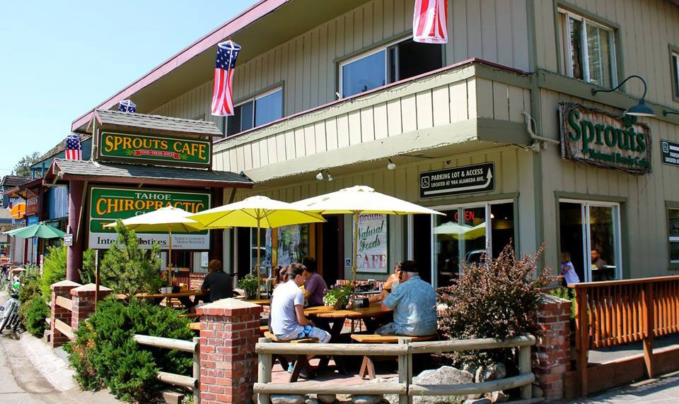 Where to go for breakfast in South Lake Tahoe: Sprouts Cafe