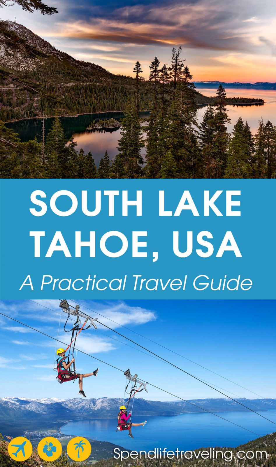 South Lake Tahoe is Lake Tahoe's most popular town. It is perfect for a short trip any time of year. Check out what to do, where to eat & drink and where to stay.