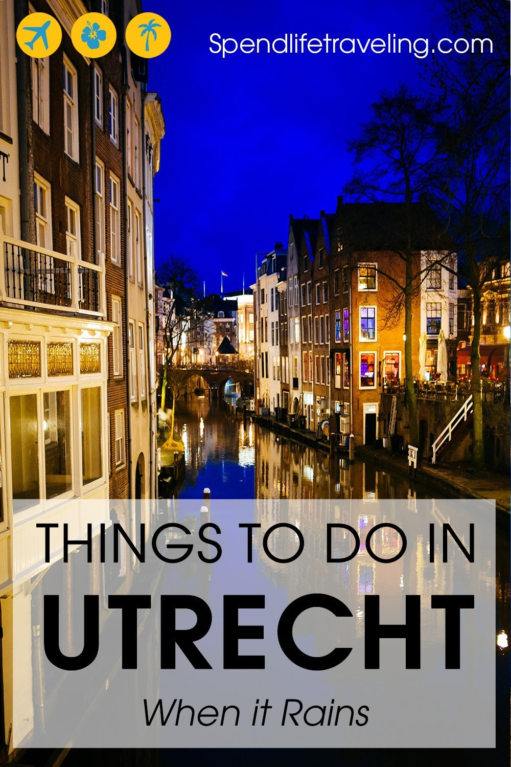 #Utrecht is one of the top cities to visit in the Netherlands. But, it does rain often. Check out these tips for what to do in Utrecht when it rains, and on sunnier days. #TheNetherlands #Holland #visitHolland #traveltips #citybreak #weekendgetaway #travelEurope