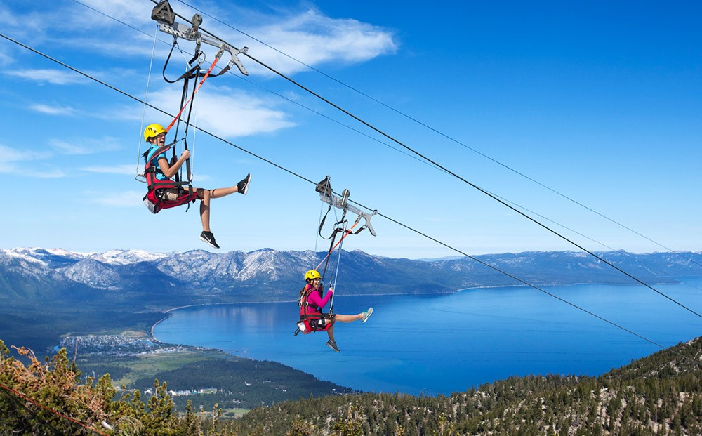 Things to do in South Lake Tahoe in summer: Heavenly Ski Resort