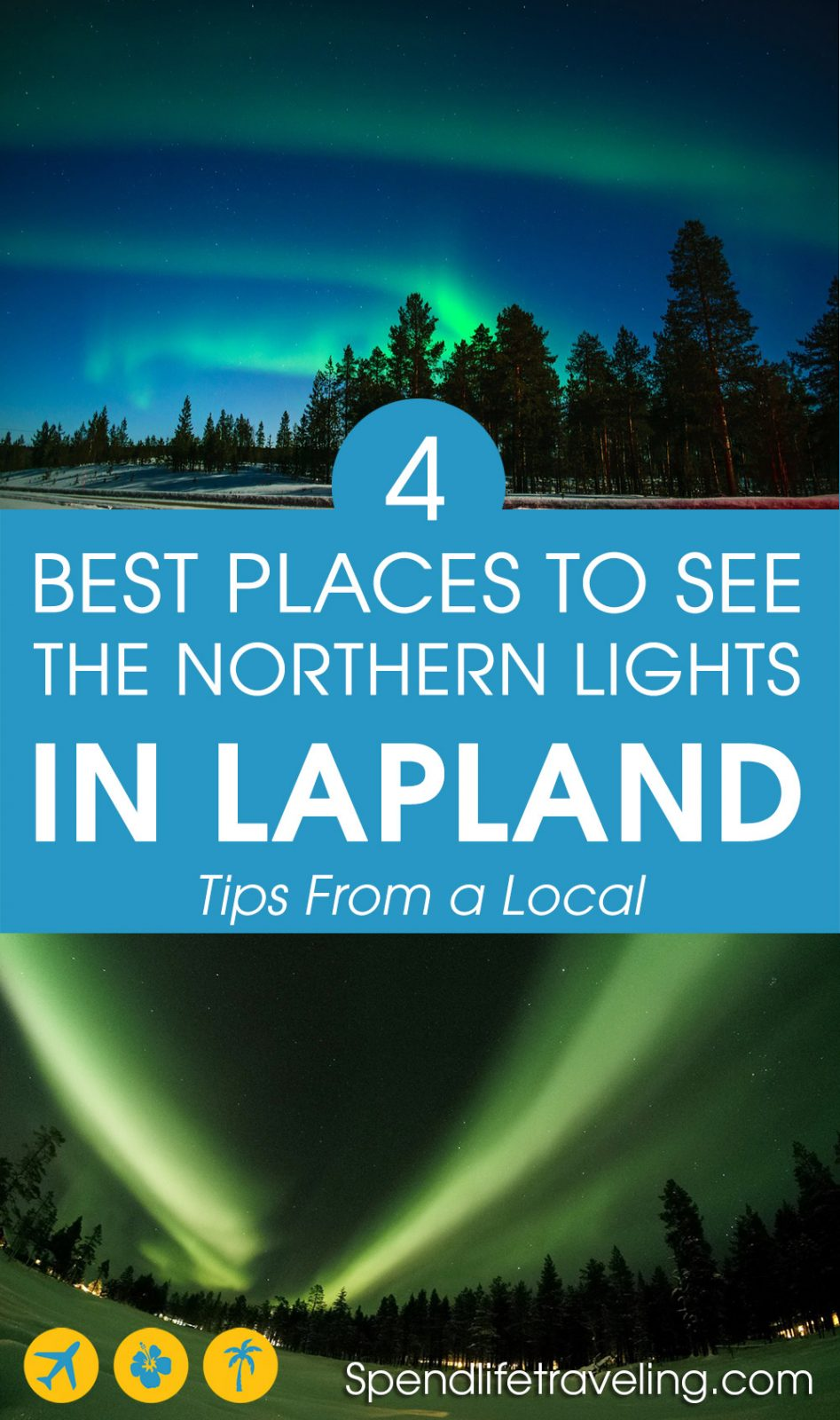 4 of the best places to see the northern lights in Finnish Lapland