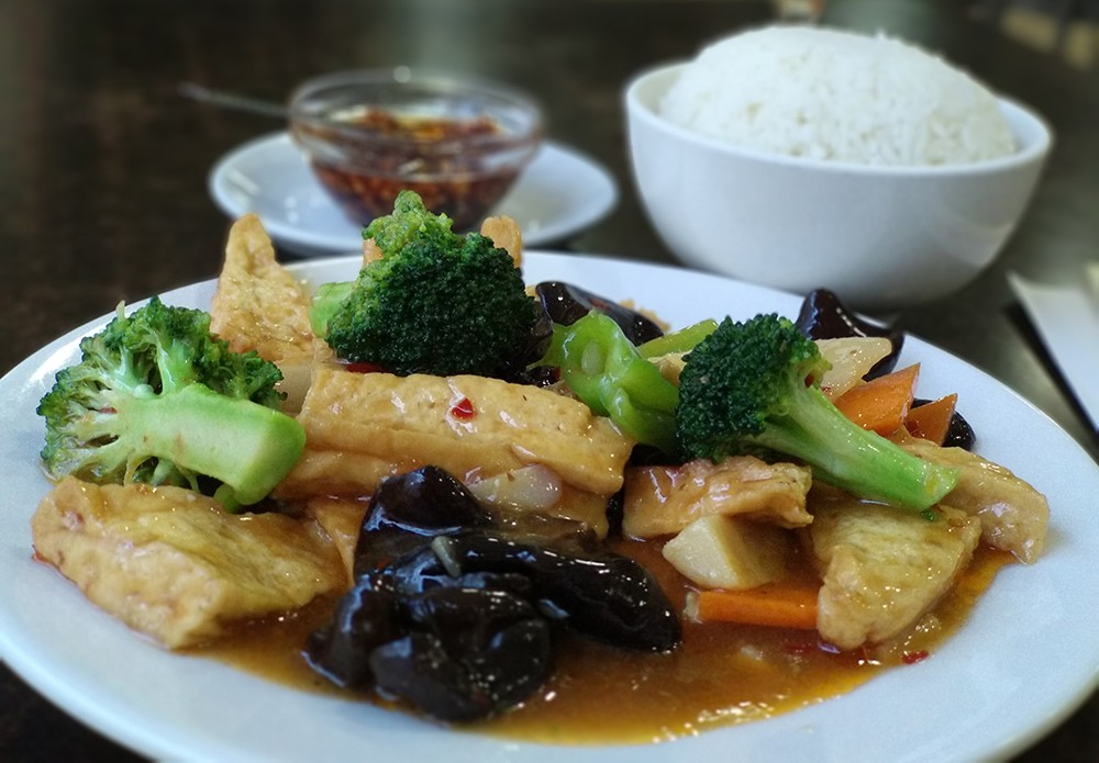 Looking for authentic Chinese food in Valencia - The Fried Tofu at Bar Frenazo
