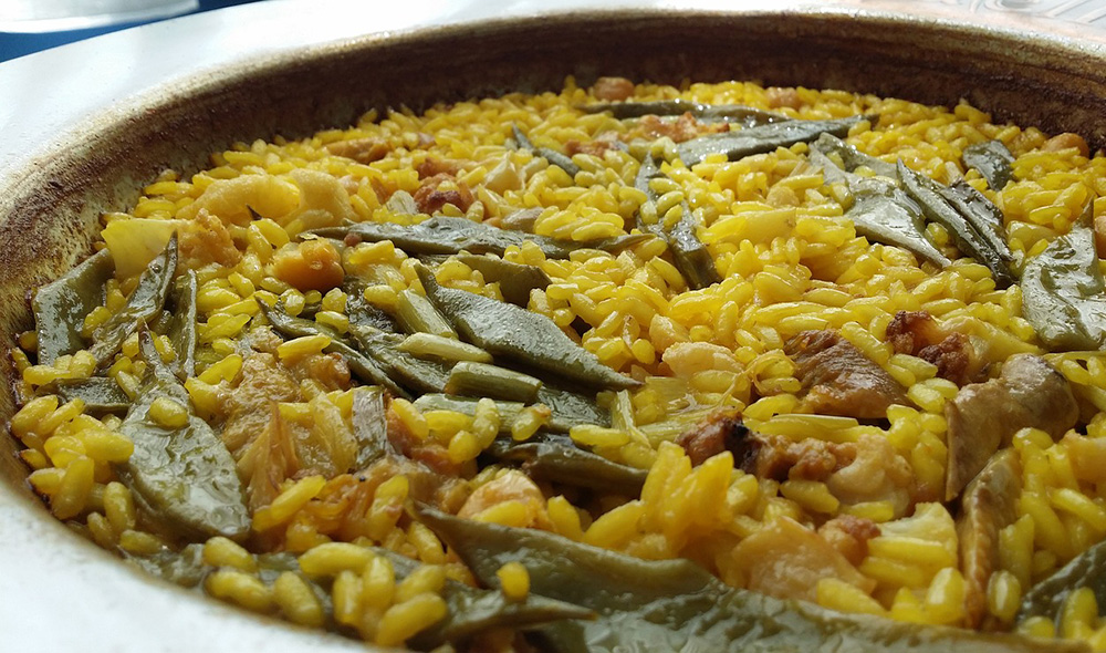 A traditional paella - Learning about the Spanish language and culture before moving to Valencia
