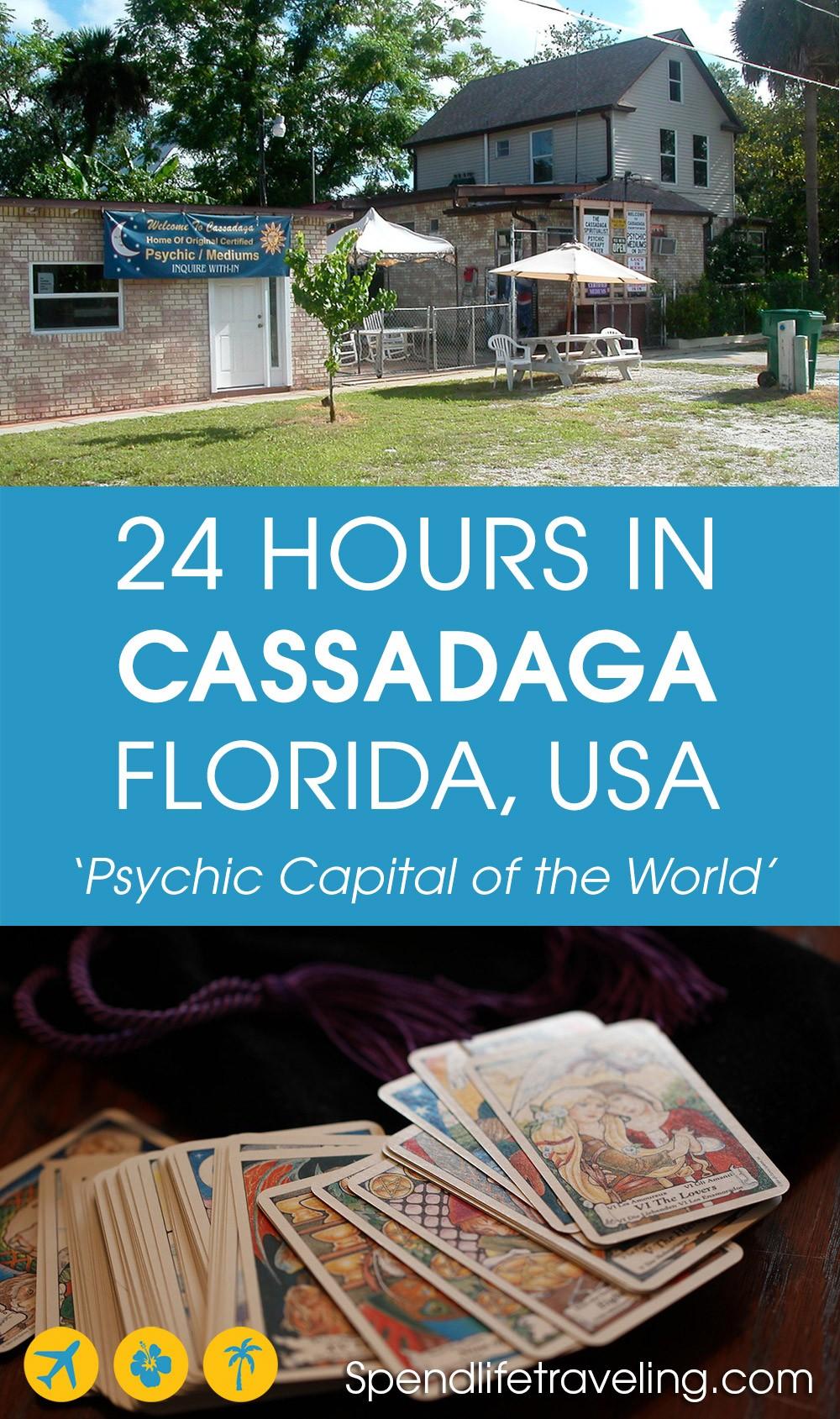 list of things to do in Cassadaga, Florida