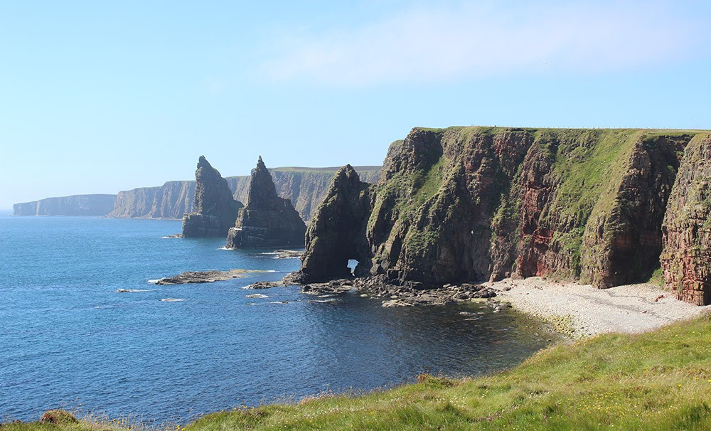 Day 3 of the 8-day North Coast 500 itinerary in Scotland - Duncasby Stacks